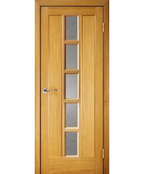 """Межкомнатные шпонированные двери """"Турин"""" ПО.  Галерея дверей. Цвет - дуб"""