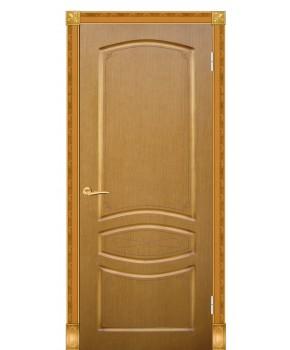 """Межкомнатные шпонированные двери """"Венеция"""" ПГ.  Галерея дверей. Цвет - орех"""