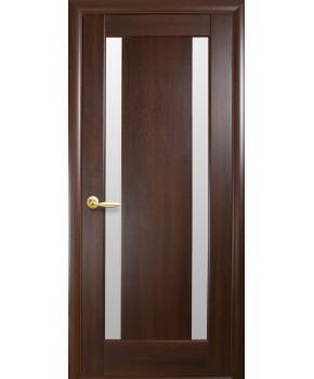 """Межкомнатные двери """"Босса"""",ПО, пленка ПВХ, фабрика """"Новый стиль"""", цвет - каштан."""