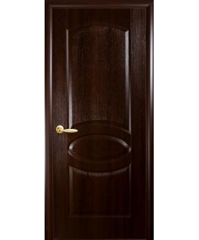 """Межкомнатные двери """"Фортис овал"""",ПГ, пленка ПВХ, фабрика """"Новый стиль"""", цвет - каштан."""