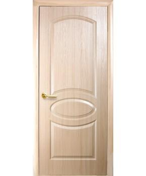 """Межкомнатные двери """"Фортис овал"""",ПГ, пленка ПВХ, фабрика """"Новый стиль"""", цвет - ясень."""