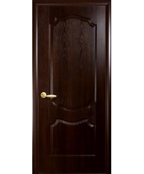 """Межкомнатные двери """"Фортис вензель"""",ПГ, пленка ПВХ, фабрика """"Новый стиль"""", цвет - каштан."""
