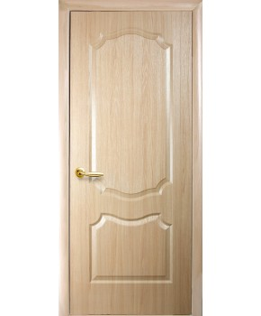 """Межкомнатные двери """"Фортис вензель"""",ПГ, пленка ПВХ, фабрика """"Новый стиль"""", цвет - ясень."""