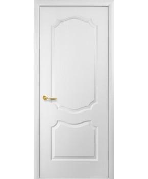 """Межкомнатные ламинированные двери """"Симпли V"""" ПГ фабрика """"Новый стиль"""", цвет - белый, под покраску."""