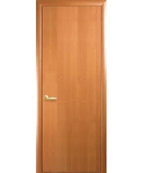 """Межкомнатные ламинированные двери """"Колори А"""" фабрика """"Новый стиль"""", цвет - ольха."""