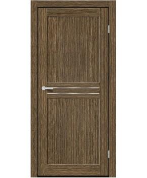 """Межкомнатные двери M 21. Пленка ПВХ. Фабрика """"Art Door"""". Цвет зебрано"""