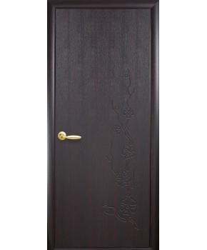 """Межкомнатные двери """"Колори Сакура"""" ПГ пленка ПВХ фабрика """"Новый стиль"""", цвет - венге NEW."""