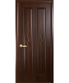 """Межкомнатные двери """"Стелла"""",ПГ, пленка ПВХ, фабрика """"Новый стиль"""", цвет - каштан."""