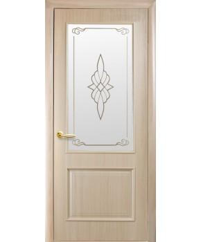 """Межкомнатные двери """"Вилла"""",ПО +Р1. пленка ПВХ, фабрика """"Новый стиль"""", цвет - ясень."""