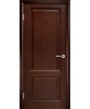 """Межкомнатные шпонированные двери """"Парламент"""" ПГ.  WoodOk. Цвет - венге"""
