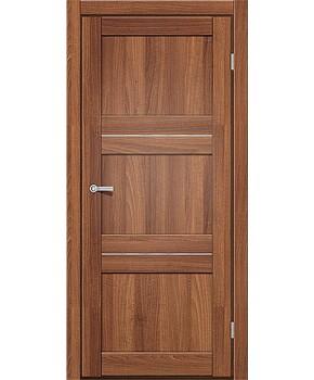 """Межкомнатные двери M 201. Пленка ПВХ. Фабрика """"Art Door"""". Цвет орех"""