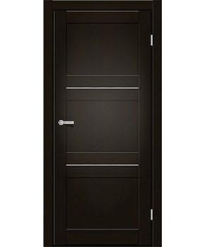 """Межкомнатные двери M 201. Пленка ПВХ. Фабрика """"Art Door"""". Цвет венге"""