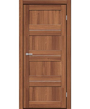 """Межкомнатные двери M 301. Пленка ПВХ. Фабрика """"Art Door"""". Цвет орех"""