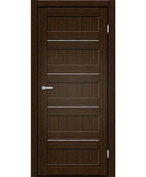 "Межкомнатные двери M 401. Пленка ПВХ. Фабрика ""Art Door"". Цвет каштан"