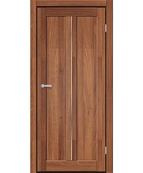 """Межкомнатные двери M 701. Пленка ПВХ. Фабрика """"Art Door"""". Цвет орех"""