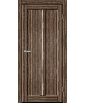 """Межкомнатные двери M 701. Пленка ПВХ. Фабрика """"Art Door"""". Цвет зебрано"""