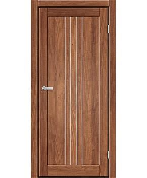 """Межкомнатные двери M 801. Пленка ПВХ. Фабрика """"Art Door"""". Цвет орех"""