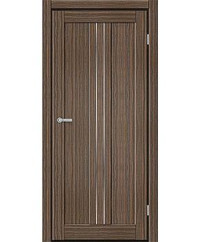 """Межкомнатные двери M 801. Пленка ПВХ. Фабрика """"Art Door"""". Цвет зебрано"""