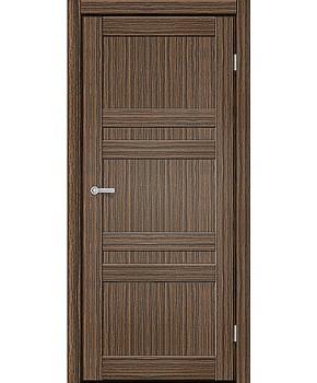 """Межкомнатные двери CTD 111. Пленка ПВХ. Фабрика """"Art Door"""". Цвет зебрано"""