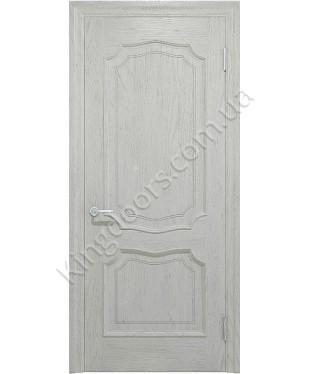 """Межкомнатные шпонированные двери """"Луидор"""" ПГ.  Фабрика """"Ваш Стиль"""". Цвет - белый"""