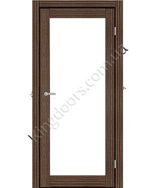 """Межкомнатные двери ART 01-02. Пленка ПВХ. Фабрика """"Art Door"""". Цвет зебрано"""