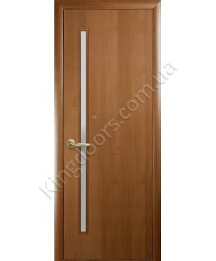 """Межкомнатные  двери """"Глория"""",ПО. Покрытие пленка ПВХ фабрика """"Новый стиль"""", цвет - золотая ольха"""
