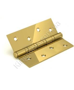 Дверные врезные универсальные петли. Длинна 100 мм. Цвет золото