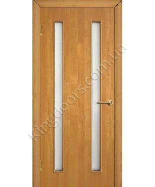 """Межкомнатные двери """"Вероника"""" ПО. Фабрика Омис. Ламинированные. Цвет - ольха"""