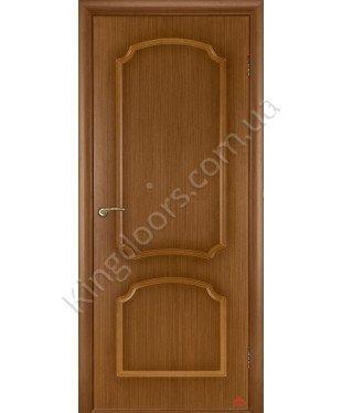 Межкомнатная дверь Виктория орех файн-лайн Э ПГ