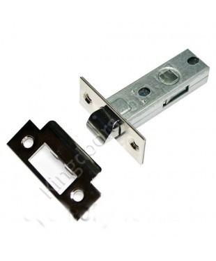 Дверной врезной механизм - защелка. Цвет хром