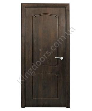 """Межкомнатные двери """"Классик"""" ПГ. Покрытие пленка ПВХ. Фабрика """"Феникс"""" Цвет - тиковое дерево"""