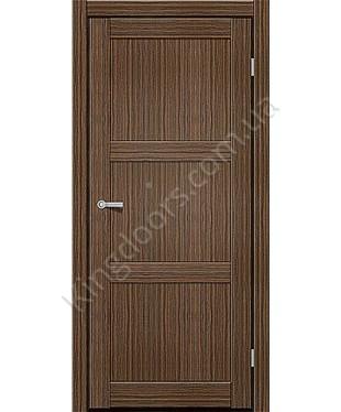 """Межкомнатные двери ART 03-01. Пленка ПВХ. Фабрика """"Art Door"""". Цвет зебрано"""