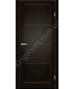 """Межкомнатные двери ART 04-01. Пленка ПВХ. Фабрика """"Art Door"""". Цвет венге"""