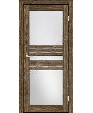 """Межкомнатные двери M 51. Пленка ПВХ. Фабрика """"Art Door"""". Цвет зебрано"""
