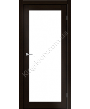 """Межкомнатные двери ART 01-02. Пленка ПВХ. Фабрика """"Art Door"""". Цвет венге"""