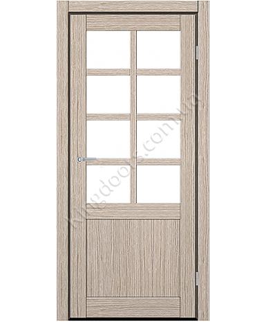 """Межкомнатные двери RTR 02. Пленка ПВХ. Фабрика """"Art Door"""". Цвет беленый дуб"""
