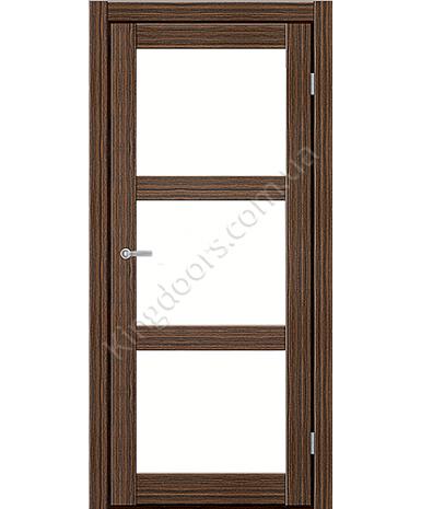 """Межкомнатные двери ART 03-02. Пленка ПВХ. Фабрика """"Art Door"""". Цвет зебрано"""