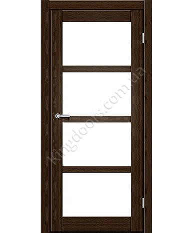 """Межкомнатные двери ART 04-02. Пленка ПВХ. Фабрика """"Art Door"""". Цвет каштан"""