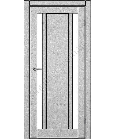 """Межкомнатные двери ART 05-05. Пленка ПВХ. Фабрика """"Art Door"""". Цвет металлик"""