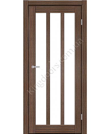"""Межкомнатные двери ART 06-02. Пленка ПВХ. Фабрика """"Art Door"""". Цвет зебрано"""
