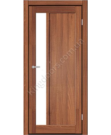 """Межкомнатные двери ART 06-04. Пленка ПВХ. Фабрика """"Art Door"""". Цвет орех"""