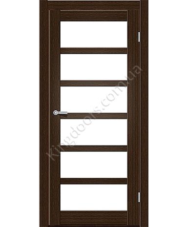 """Межкомнатные двери ART 08-02. Пленка ПВХ. Фабрика """"Art Door"""". Цвет каштан"""