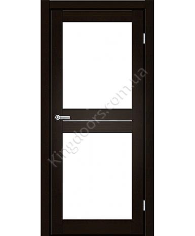 """Межкомнатные двери M 102. Пленка ПВХ. Фабрика """"Art Door"""". Цвет венге"""