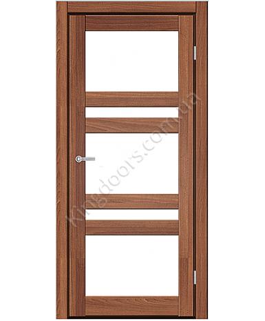 """Межкомнатные двери CTD 112. Пленка ПВХ. Фабрика """"Art Door"""". Цвет орех"""