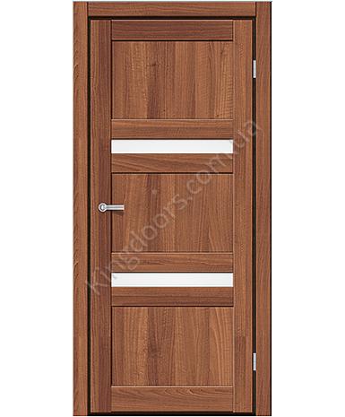 """Межкомнатные двери CTD 113. Пленка ПВХ. Фабрика """"Art Door"""". Цвет орех"""
