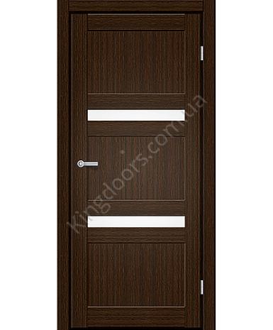 """Межкомнатные двери CTD 113. Пленка ПВХ. Фабрика """"Art Door"""". Цвет каштан"""