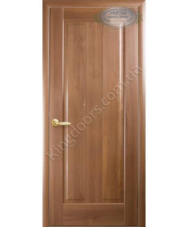 """Межкомнатные двери """"Премьера"""",ПГ, пленка ПВХ, фабрика """"Новый стиль"""", цвет - золотая ольха."""