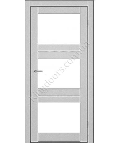 """Межкомнатные двери M 202. Пленка ПВХ. Фабрика """"Art Door"""". Цвет металлик"""