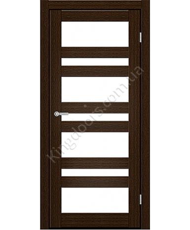 """Межкомнатные двери CTD 212. Пленка ПВХ. Фабрика """"Art Door"""". Цвет каштан"""