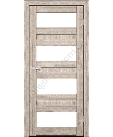 """Межкомнатные двери CTD 214. Пленка ПВХ. Фабрика """"Art Door"""". Цвет беленый дуб"""